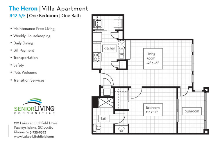 The Heron Villa Apartment